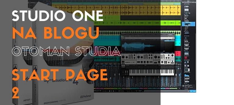 Studio One – Start Page 2