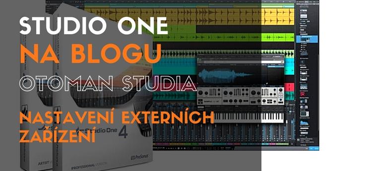 Studio One – Nastavení externích zařízení