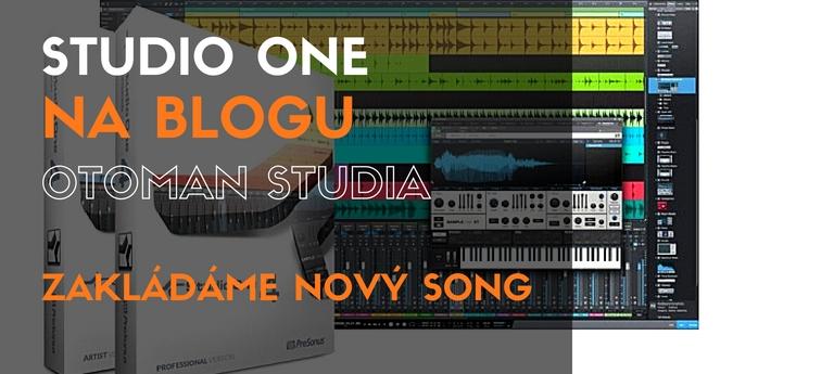 Studio One - Zakládáme nový song