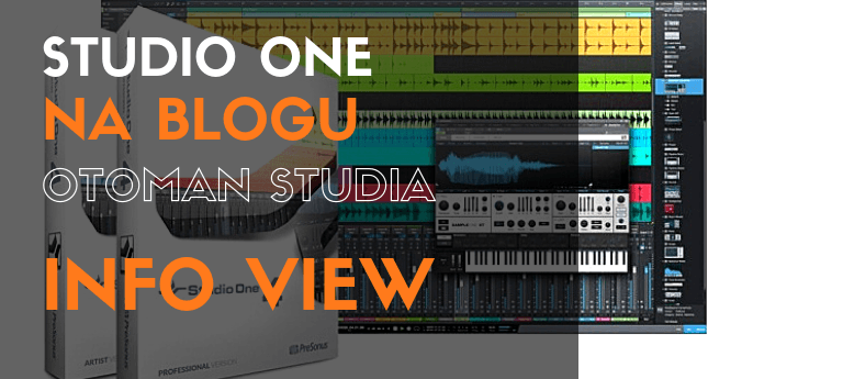 Studio One - Info View