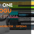 Studio One - Track list - Inspektor - Options (Arrange Windows)