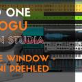 Studio One - Arrange Windows - základní přehled