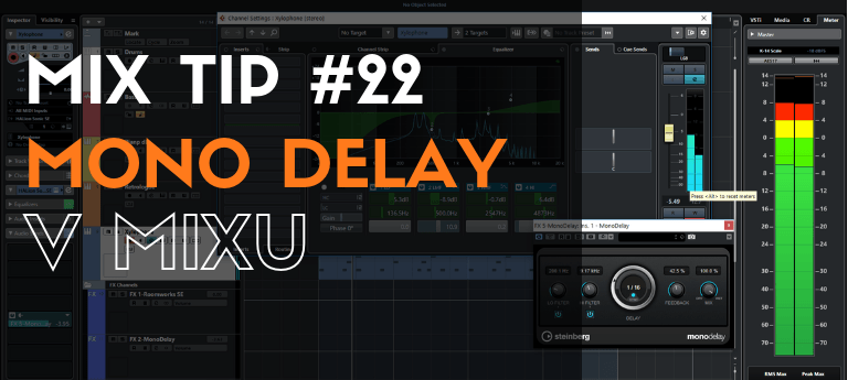 MixTip #22 - Mono delay v mixu