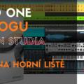 Studio One - Funkce na horní liště