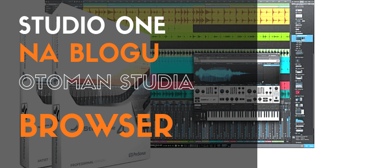 Studio One - Browser