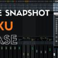 Funkce Snapshot v mixu Cubase